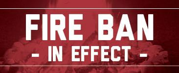 Due to the high temperatures and dry conditions, there is a fire ban in effect for the Town. Click here for more information.