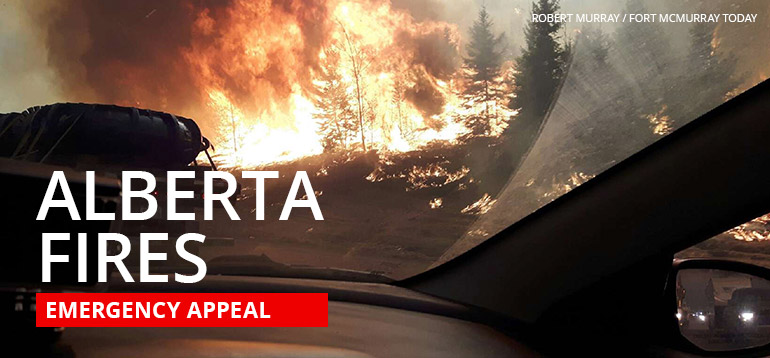For residents looking to help our neighbours from Fort McMurray, the provincial and federal governments will be matching all private donations to the Red Cross. Click here for information on donating.