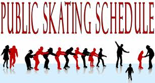 click here for link to Public Skating Schedule